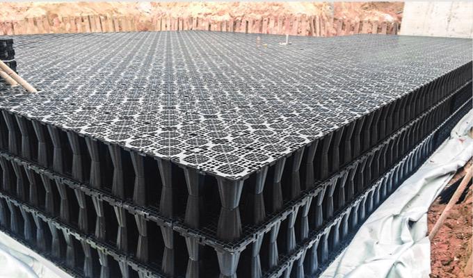 Underground Modular Tanks for Rainwater Harvesting System