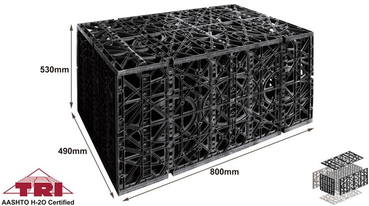 Rainwater Harvesting Module, modular water storage tanks