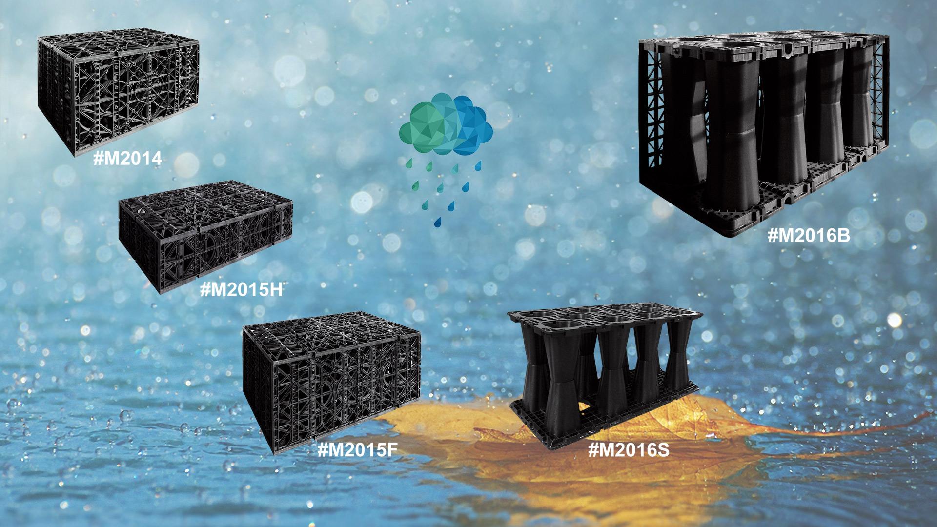 Rainwater Harvesting Module Modular Water Storage Tanks